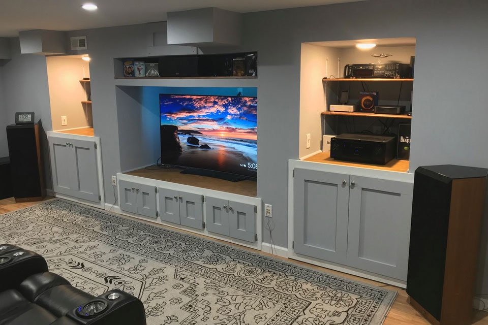 Home Theater of the Month: The TV Room - AVSForum.com on home theatre room, home theatre screens, home cinema, home theater,