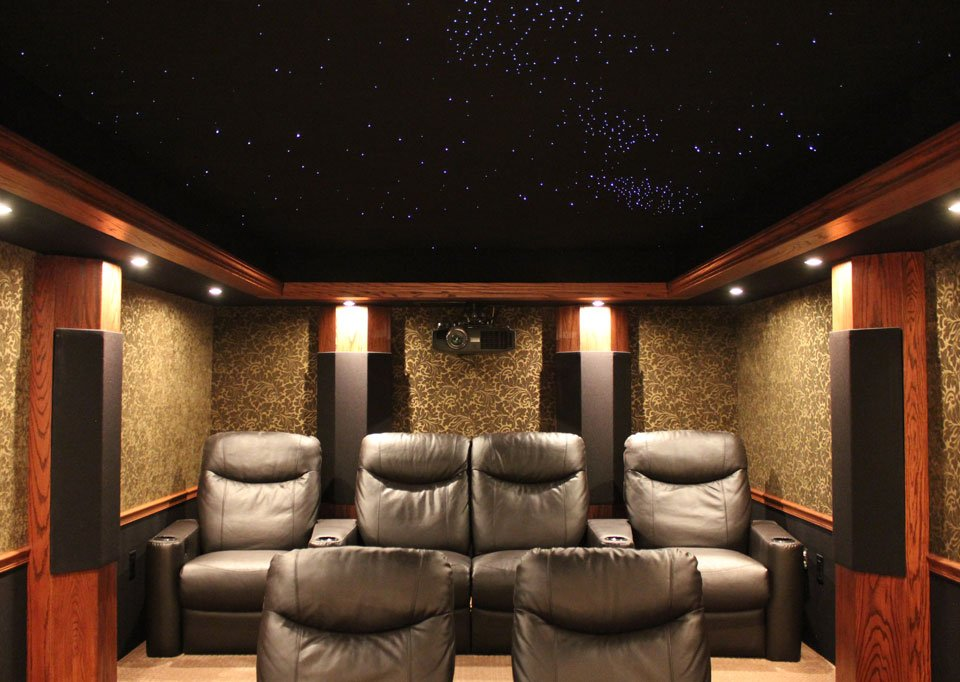 Home Theater of the Month: Great Dane Cinema