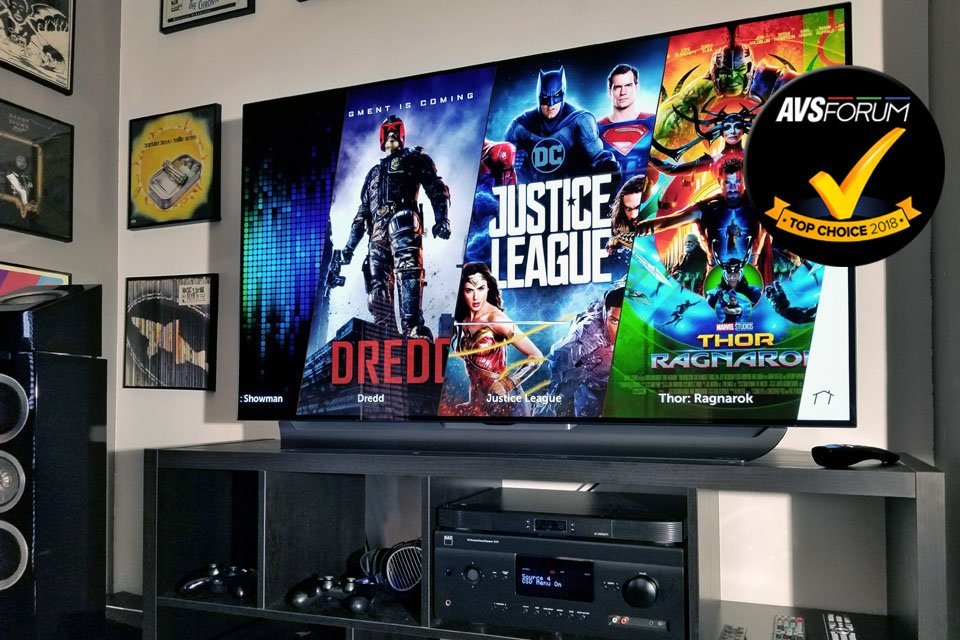 Review: LG 55C8 4K/UHD HDR OLED TV