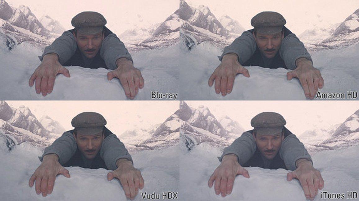 The Grand Budapest Hotel: Blu-ray vs. Vudu vs. iTunes vs. Amazon