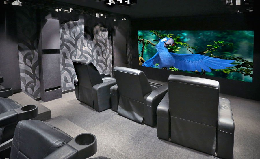 Home Theater of the Month: DIY to the Nth Degree