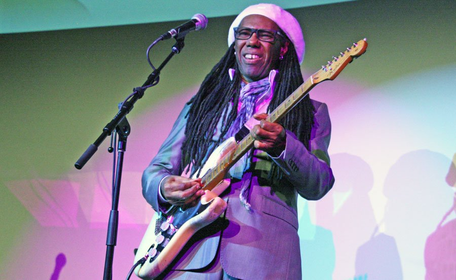 Nile Rodgers Honored at Pre-Grammy Party