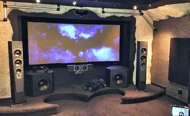 Home Theater Of The Month Batcave