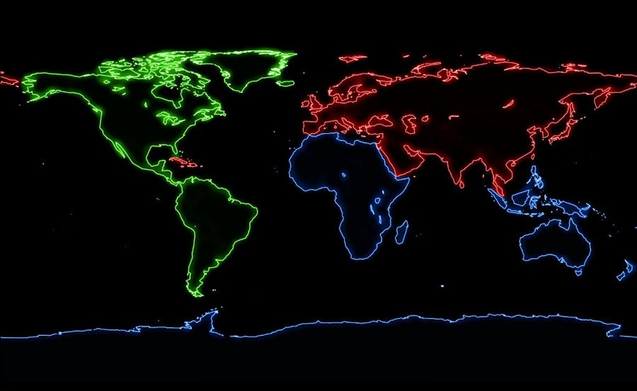 Laser-Illuminated Projection Around the World
