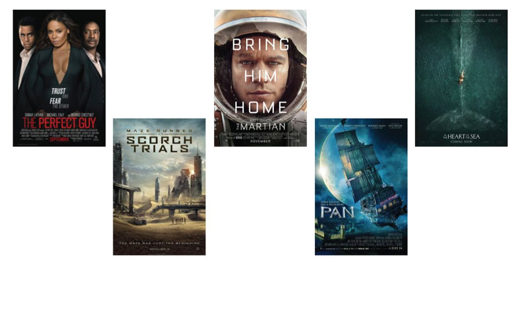Five New Movies in Dolby Vision HDR