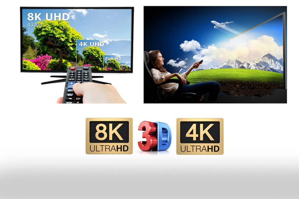 Poll: What's Better, 8K 2D or 4K 3D?