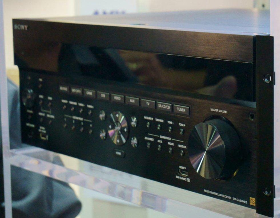 Sony ES Integrator Friendly AVRs at CEDIA 2014