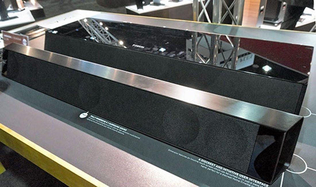 Focal Dimension Soundbar and Subwoofer at CEDIA 2014
