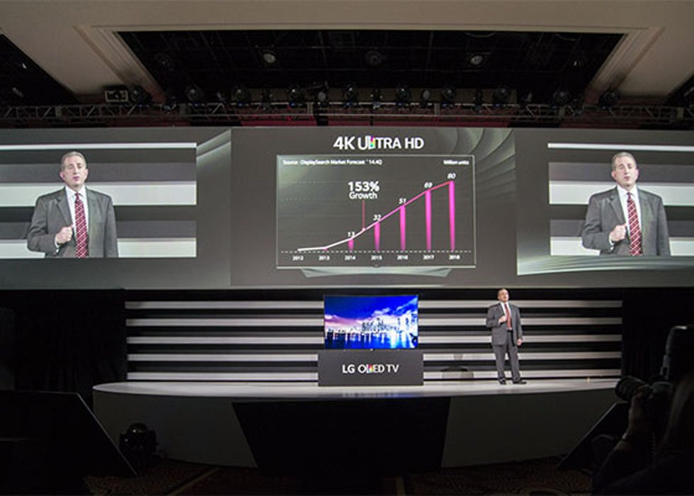 LG Launches Expanded 4K UHD OLED Lineup at CES 2015