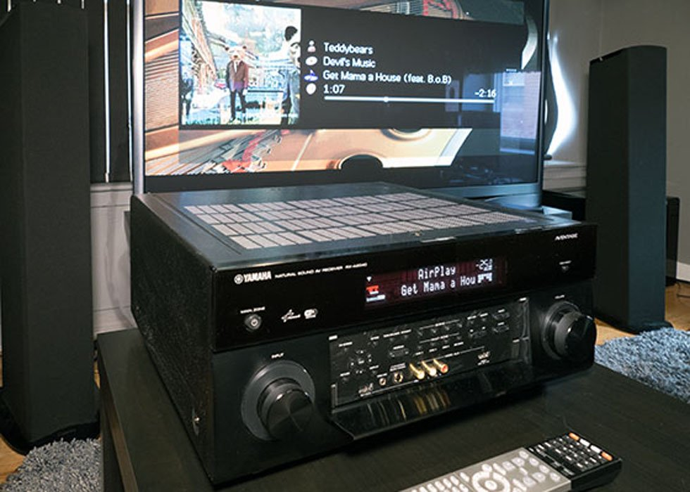 Yamaha RX-A2040 9.2-Channel AV Receiver Review