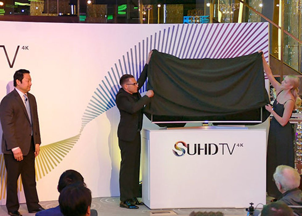 Samsung Shows 2015 UHD TV Lineup in NYC