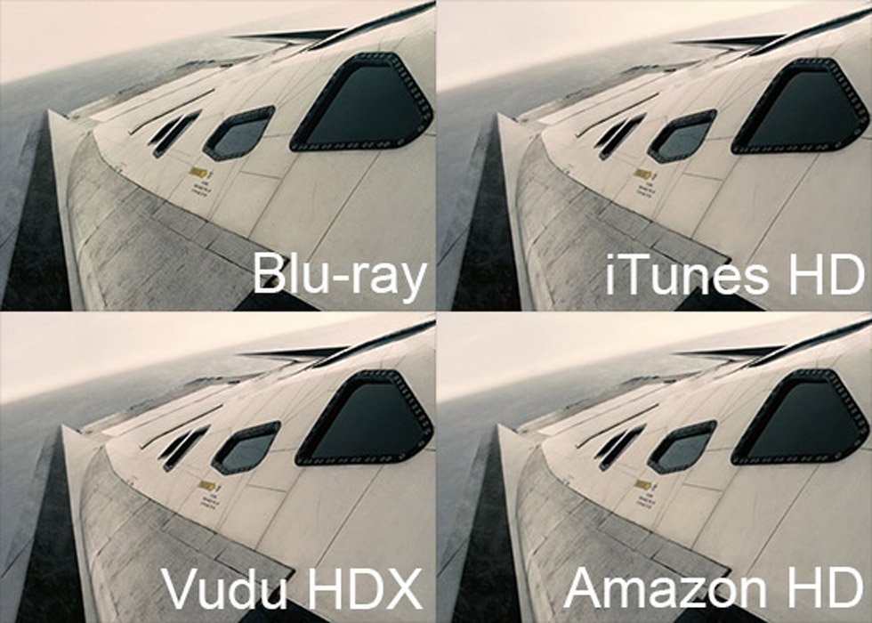 Interstellar: Blu-ray vs. iTunes vs. Vudu vs. Amazon