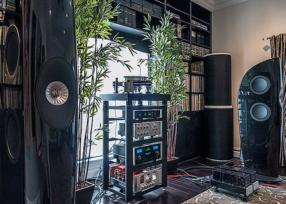Vinyl Epiphany with the VPI Avenger Turntable and KEF Blade Speakers