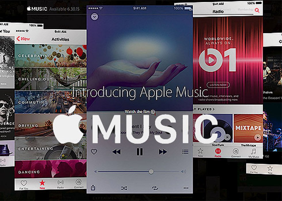 Apple Music Streaming Service Launches June 30