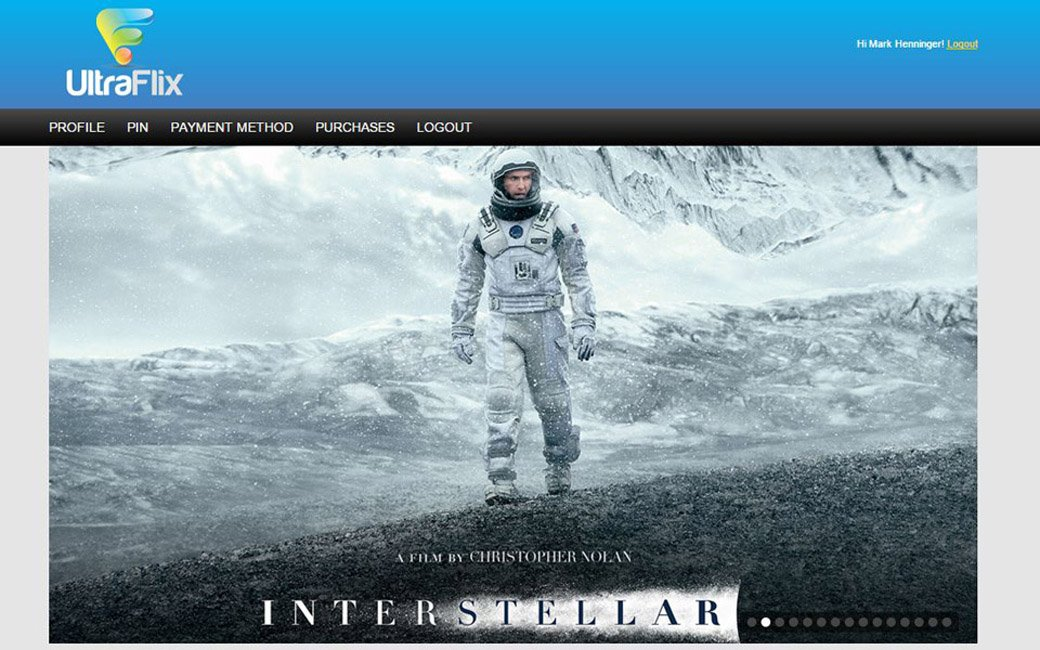 Streaming Interstellar in UHD with UltraFlix