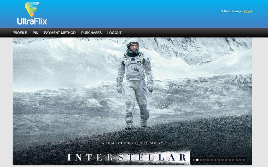 Streaming Interstellar in UHD with UltraFlix