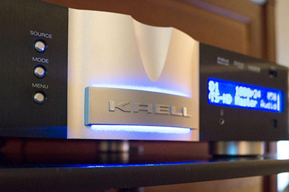 Krell Foundation AV Pre/Pro at New York Audio Show