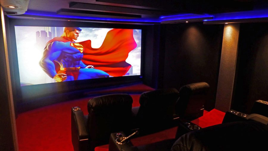Home Theater of The Month: Fortress of Solitude