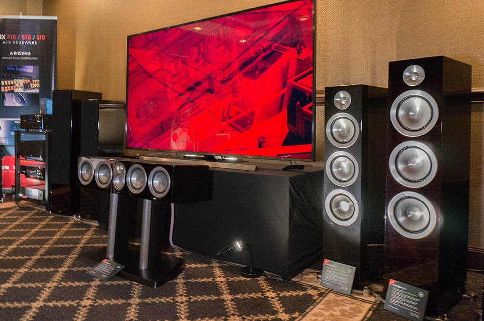Anthem Paradigm Dolby Atmos at TAVES 2015