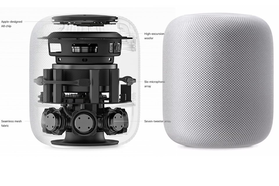 Apple Introduces HomePod Wireless Speaker with Siri