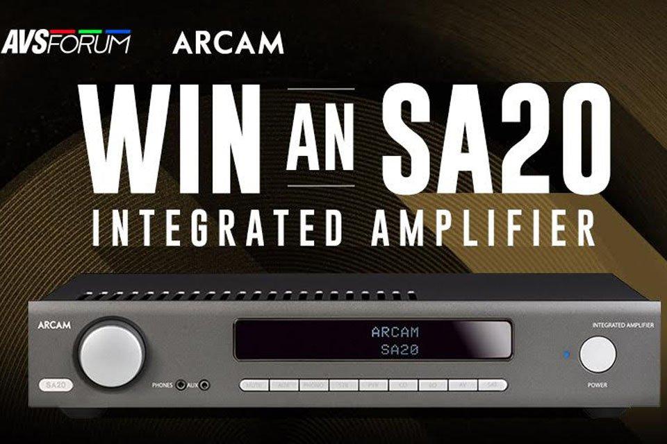 Win an Arcam SA20 Integrated Amplifier - AVSForum com