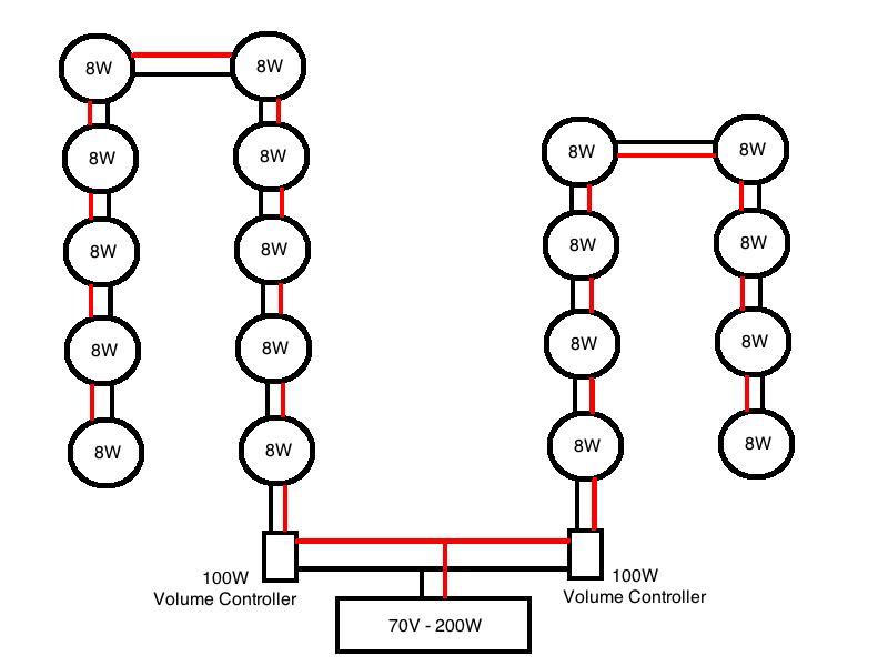 70V Volume Control Wiring Diagram from www.avsforum.com