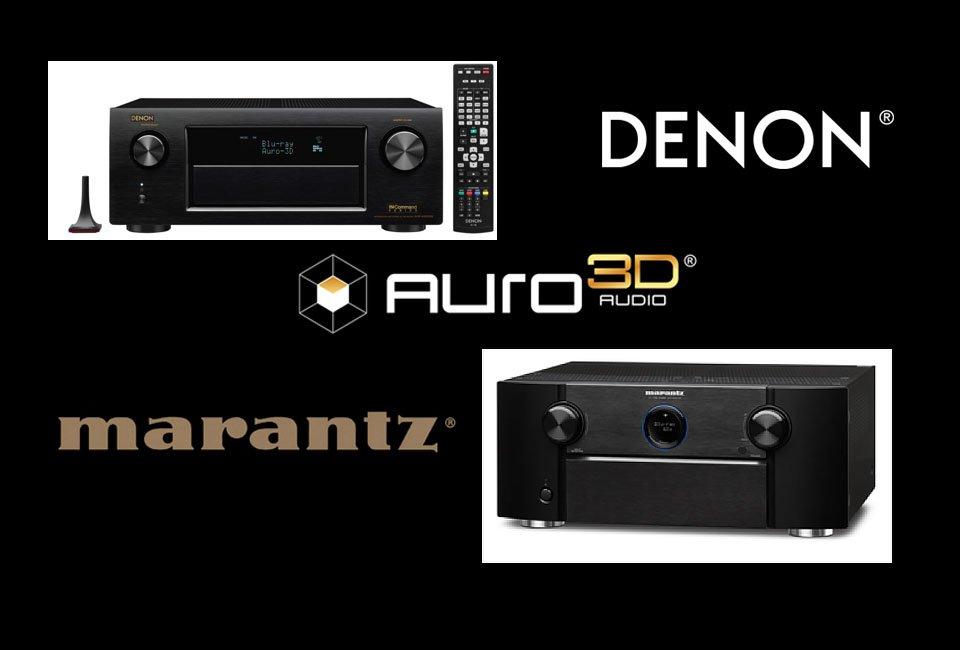 auro 3d graphic denon marantz