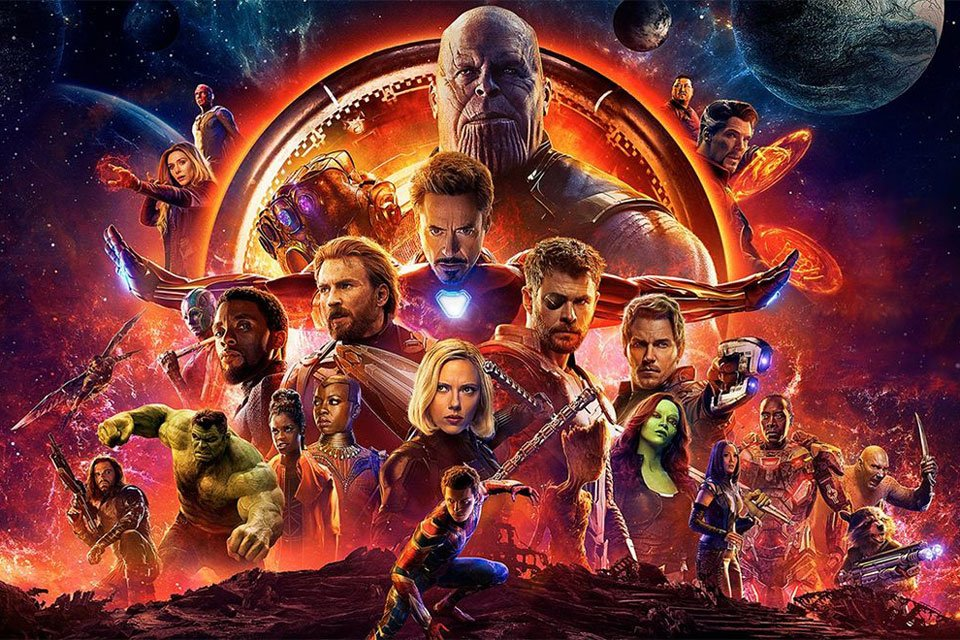 avengers: infinity war in dolby vision hdr and atmos sound
