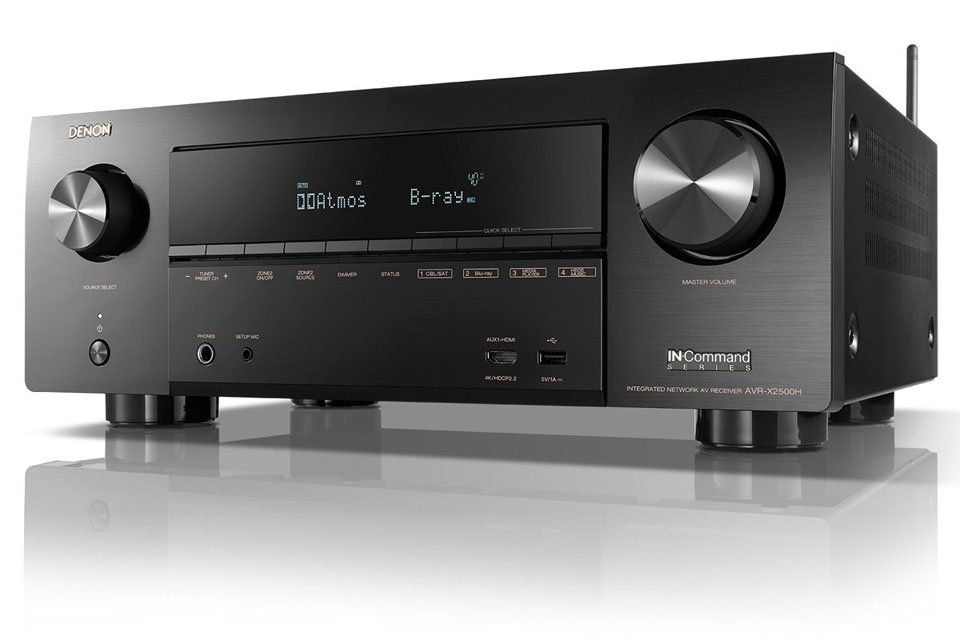 Denon AVR-X2500H Deal: Factory Refurb For $399 w/Free Shipping