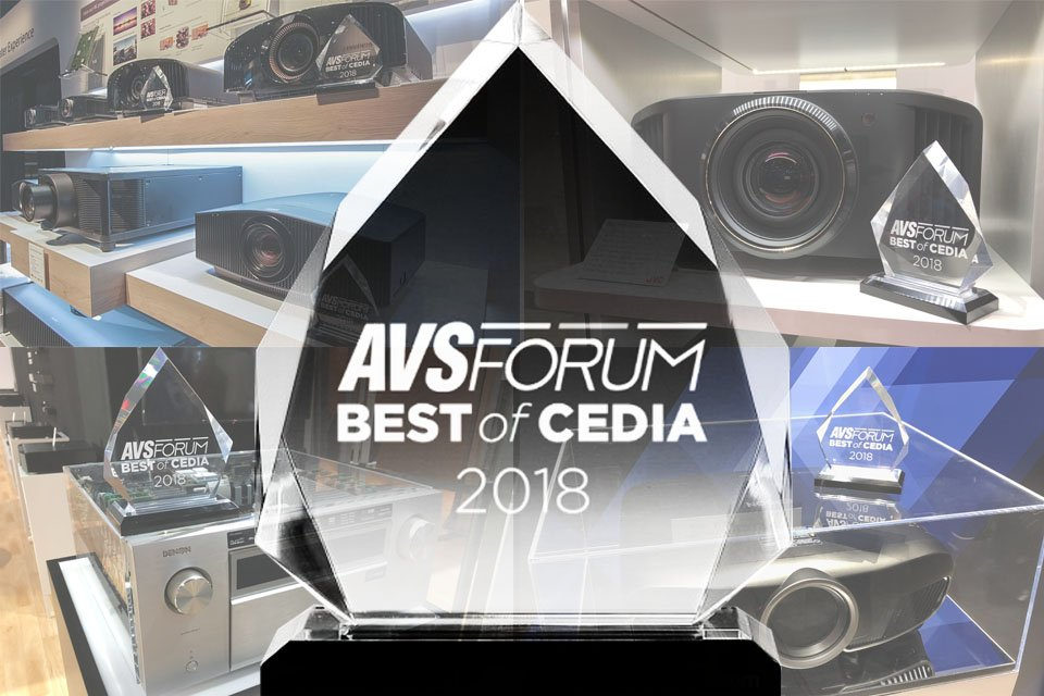 AVS Forum Best of CEDIA 2018 Awards