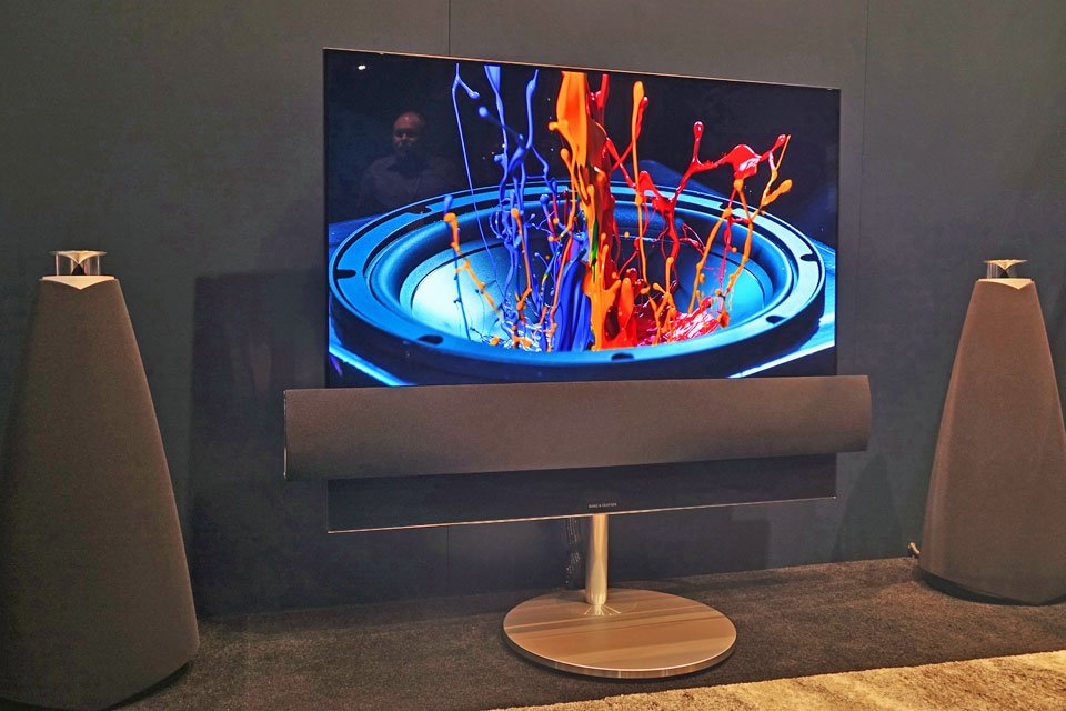Bang & Olufsen BeoVision Eclipse 4K/UHD HDR OLED TV at CEDIA 2017