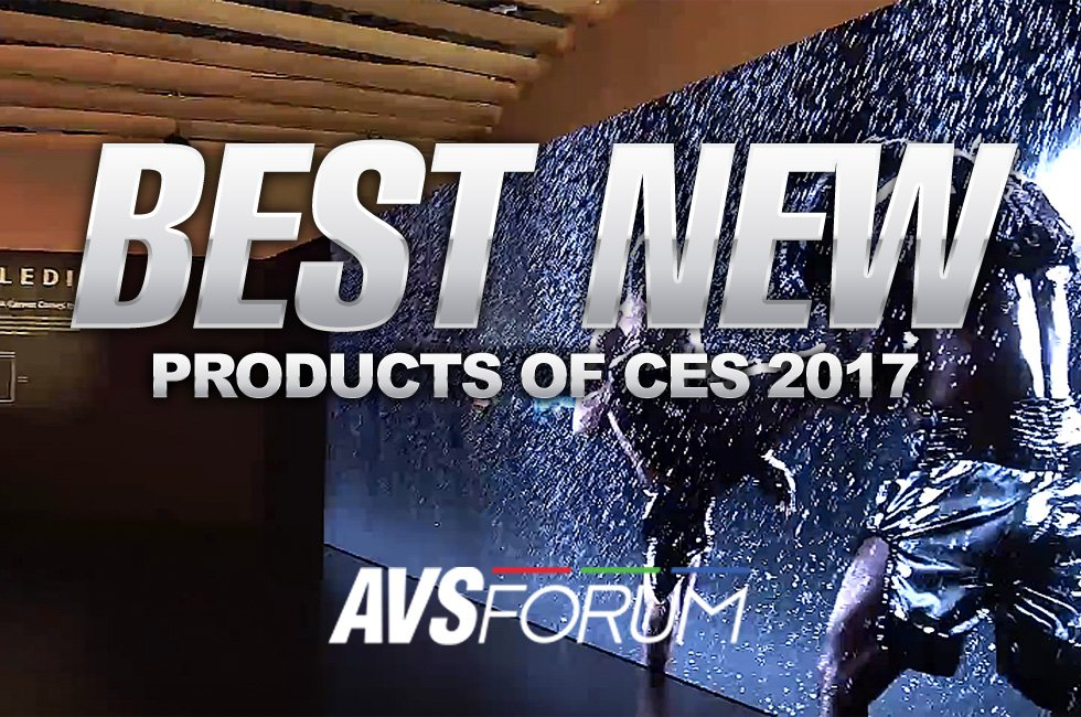 The Best New TVs of CES 2017: Samsung QLED, Sony CLEDIS, LG OLED and More