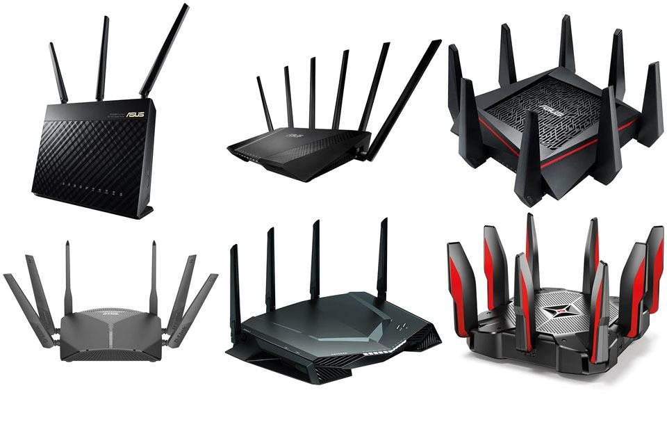 Router options to improve slow internet in the home office