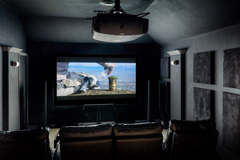 Home Theater of the Month: The Bigham Theater