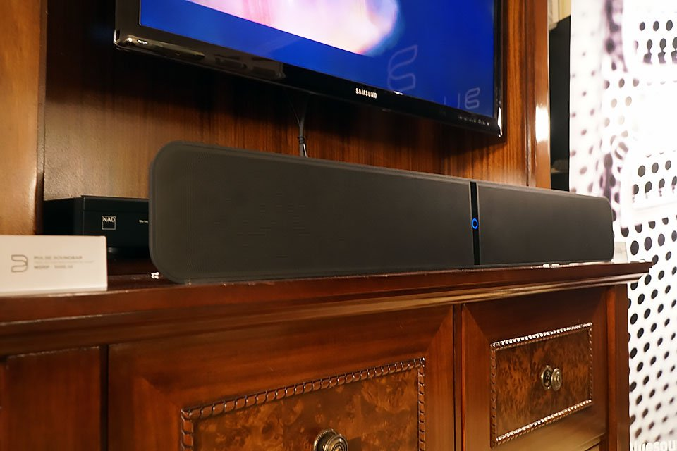 Bluesound Pulse Soundbar and Wireless Pulse Sub Demo at CES 2017