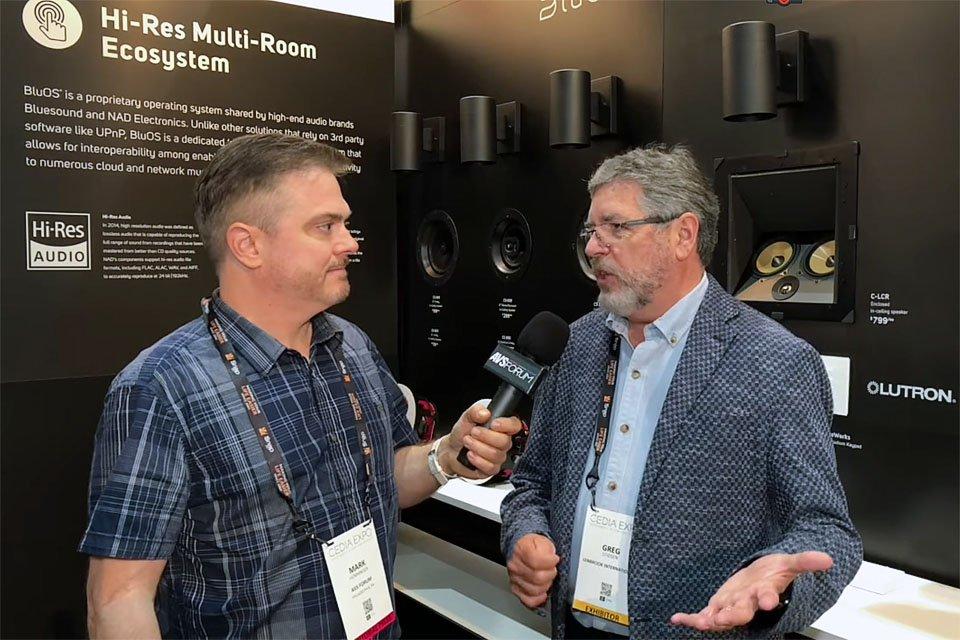 BluOS 3.0 Multiroom Sound at CEDIA 2018