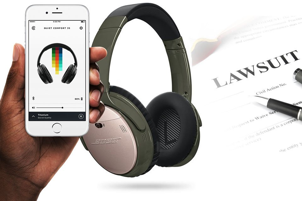 Bose Wireless Headphones App Spies on Users Says Class Action Lawsuit