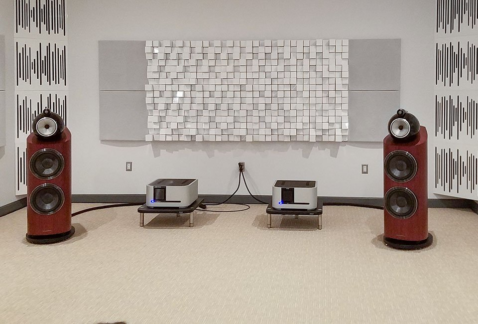 bowers and wilkins 800 d3 2-channel cover