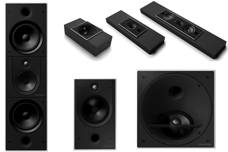 Bowers & Wilkins CI800 Series Diamond Custom Install Speakers Announced