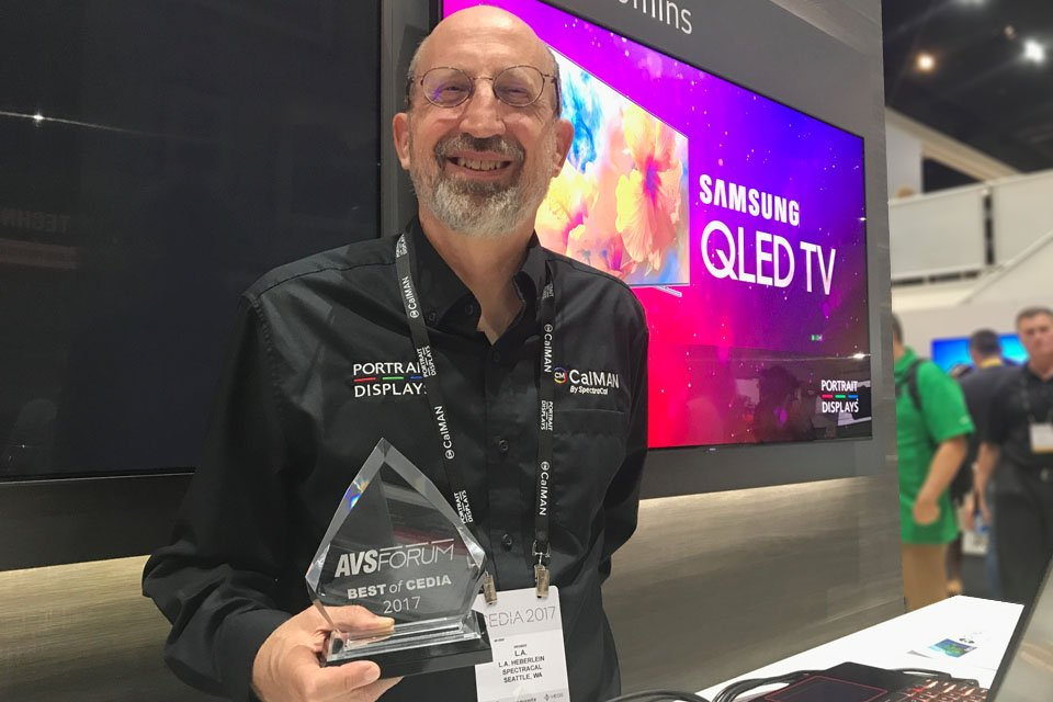 Samsung AutoCal for QLED HDR TVs at CEDIA 2017