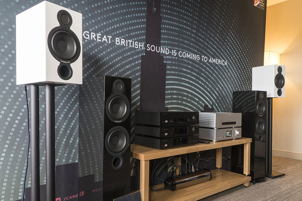 Cambridge Audio AeroMax 6 Speakers Demoed at AXPONA 2017