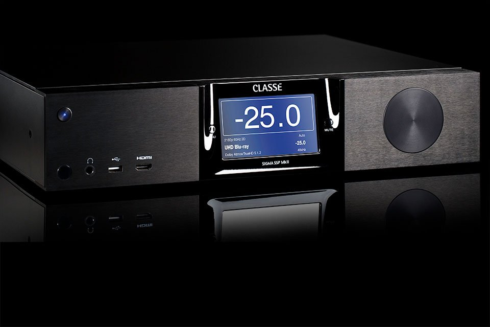 Classé Sigma SSP MKII with 4K UHD and Dolby Atmos Announced