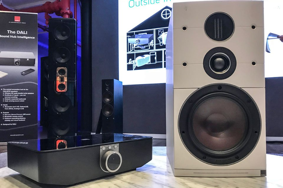 DALI Callisto Speakers with BluOS Now MQA Certified