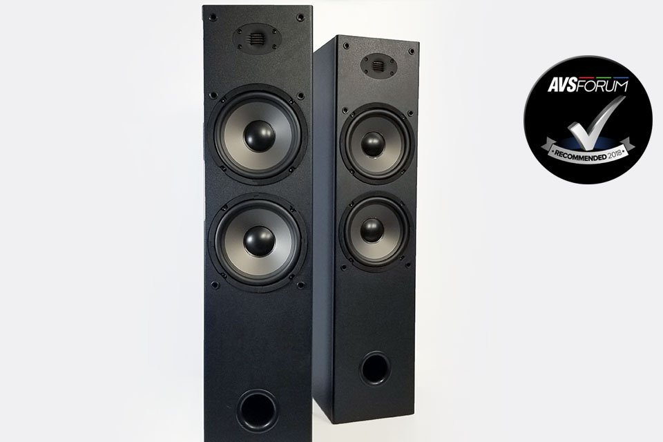 Dayton Audio T652-AIR Tower Speakers