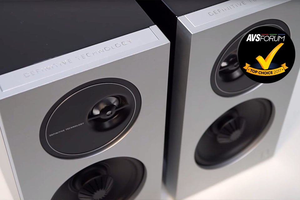 Video Review: Definitive Technology Demand D7 Bookshelf Speakers