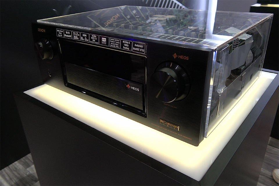Denon X6400H AVR with Auro-3D Unlocked