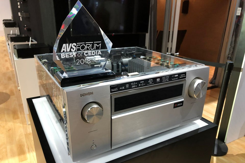 Best of CEDIA 2018 Awards - AVSForum com