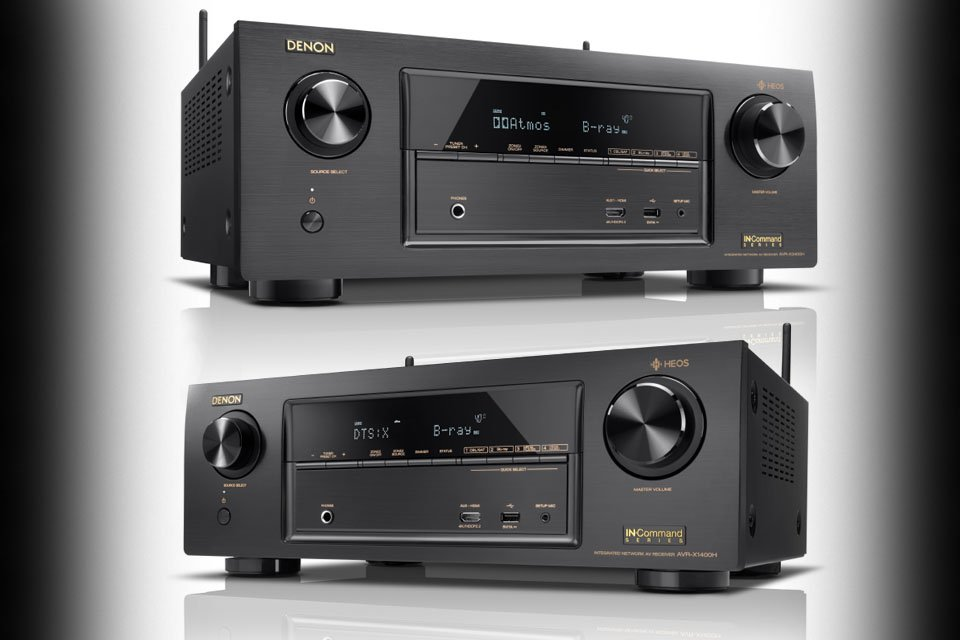 Denon AVR-X1400H and AVR-X2400H AV Receivers