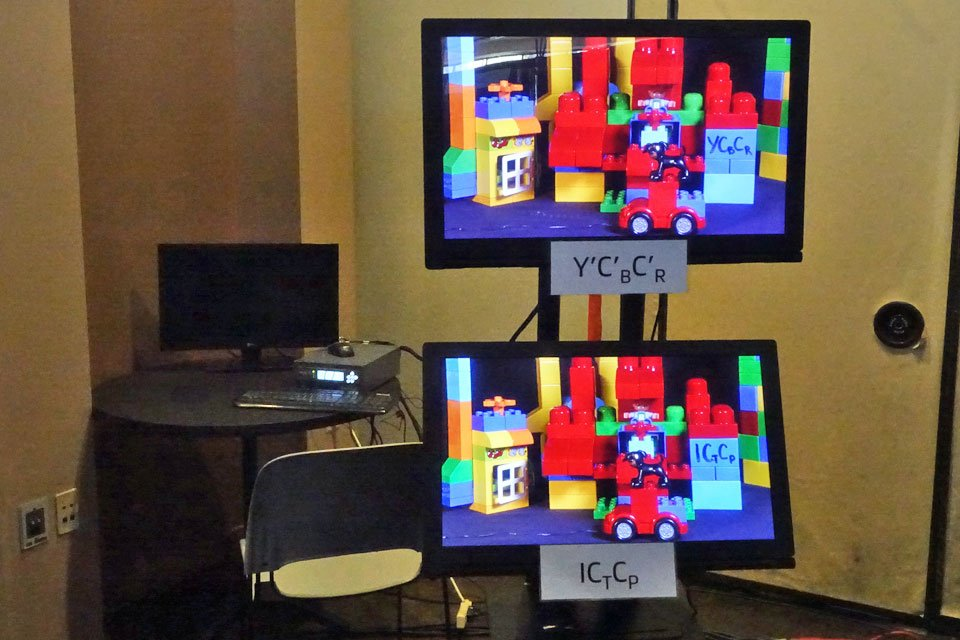 Dolby Demonstrates ICtCp Color Model at SMPTE 2017