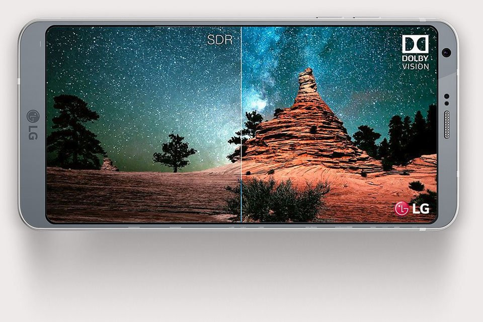 LG G6 Smartphone with Dolby Vision